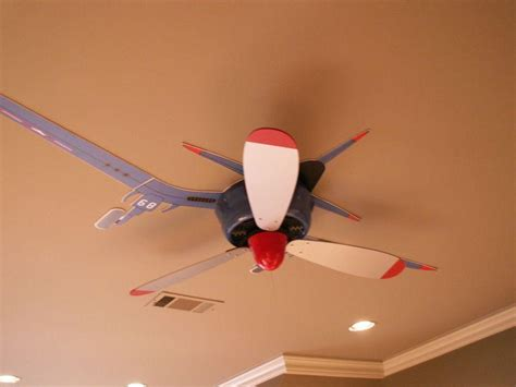 Airplane Prop Ceiling Fan by Airplane Ceiling Fan With And White Propeller Sayleng