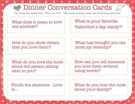 dinner conversation starters cards dinner conversation starters s day edition