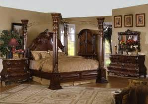 King Size Canopy Bedroom Sets King Size Canopy Bed