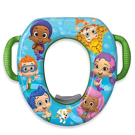 bubble guppies bed nickelodeon bubble guppies soft potty seat bed bath beyond