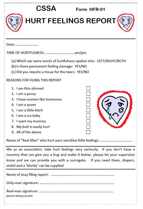 Oilfield Hurt Feelings Report