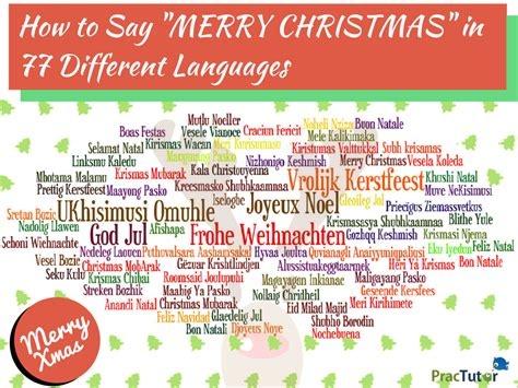 how to say in how to say merry in 77 different languages practutor