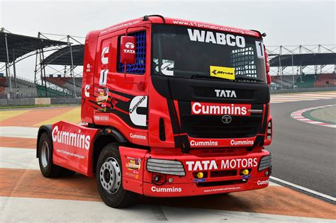 truck racing wabco demonstrates advanced safety technologies at tata