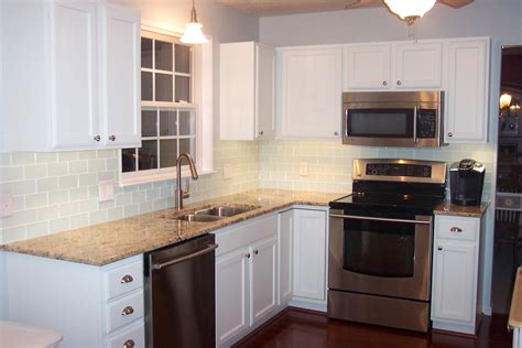 white glass subway tile kitchen backsplash glass subway tile projects before after pictures