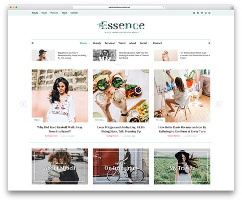 blog themes clean 63 best clean wordpress themes 2018 colorlib