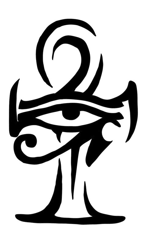 ankh tribal tattoo 44 wonderful ankh tattoos designs