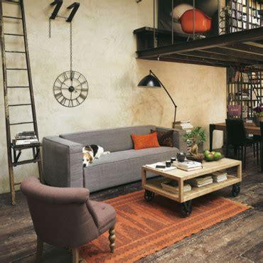 Salon Style Urbain by Chantier D 233 Coration Salon Style Urbain