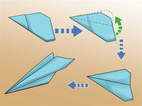 How To Make A Looping Paper Airplane - ein looping papierflugzeug falten wikihow