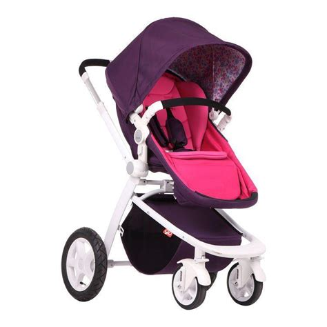 2015 luxury baby stroller 3 in 1 two colour four wheels