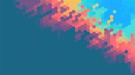 top abstract navy blue hexagon pattern background design wallpaper sunlight colorful illustration digital art