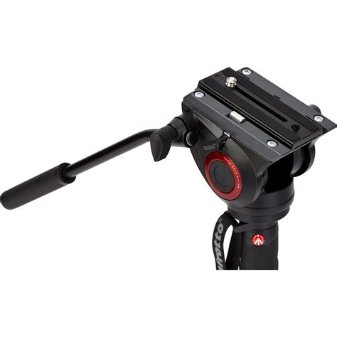 Manfrotto Xpro Mvmxpro500 manfrotto xpro 203cm 5kg 4 section monopod fluidna