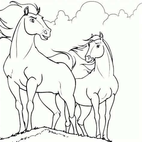 dibujos para colorear de caballos caballos finos colouring pages