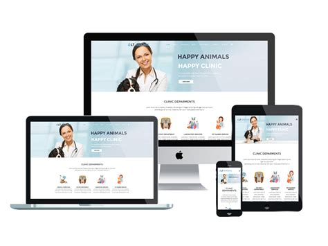 lt anicare onepage free one page joomla animal care