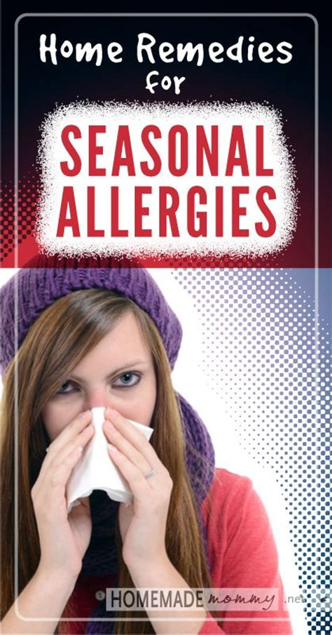 home remedies for seasonal allergies www homemademommy