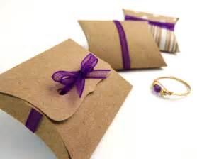Diy Pillow Box Template by Mini Pillow Boxes 20 Diy Kraft Favor Boxes 2 X