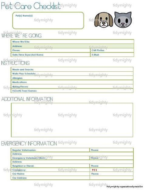 sitting template helpful information sheet for when you borad or leave your
