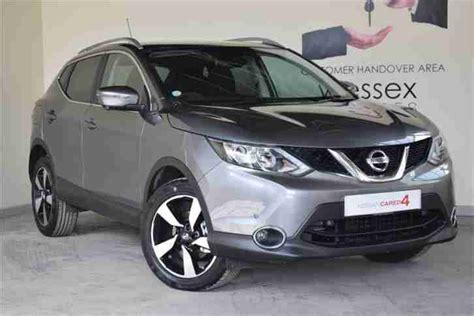 nissan grey nissan 2016 qashqai dci n tec plus diesel grey manual car