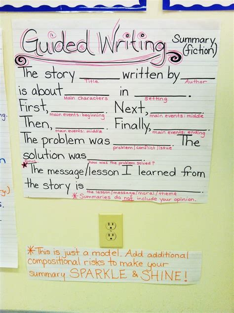 219 best images about anchor charts on pinterest context