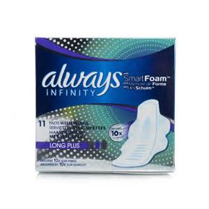 Always Infinity Always Infinity Plus Pads With Wings Ebay