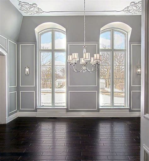Premade Coffered Ceiling by Install Wainscoting Dining Room Raised Paneling