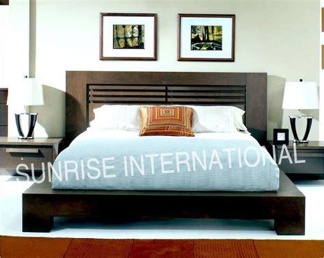 Bed Platform Queen Size - sunrise international wooden beds amp bedroom sets