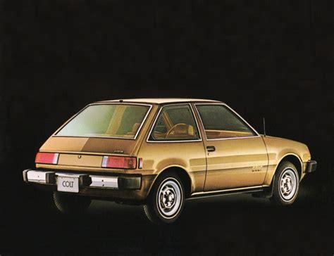 mitsubishi hatchback 1980 hatch heaven 187 dodge colt custom 1980