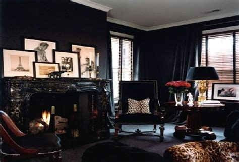 black house interior the black wall a bold statement in interior design homesthetics inspiring ideas for your home