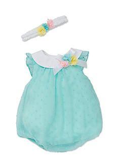 Carters Mitten And Booties Flower Orange T2909 1 Baby Clothes Belk