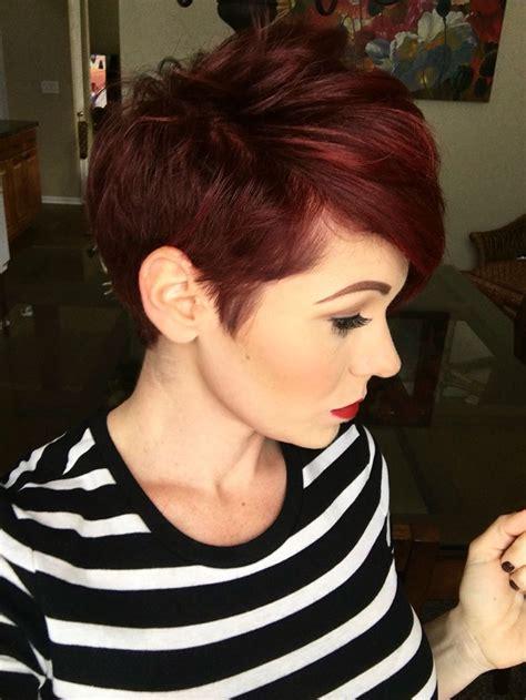 pixie hair cut with a caramel colour best 25 red pixie haircut ideas on pinterest red hair