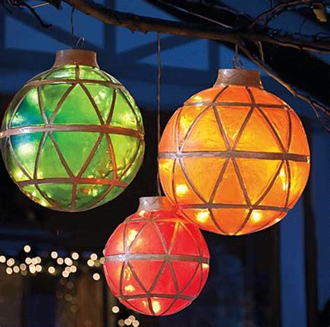 illuminated led ornaments holidays pinterest