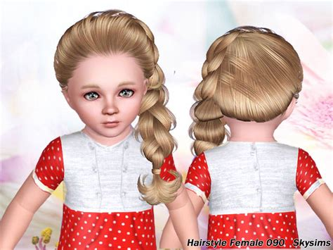 sims 3 toddler hair skysims hair toddler 090