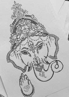 ganesha tattoo klein ganesha in lotus google search tattoos pinterest