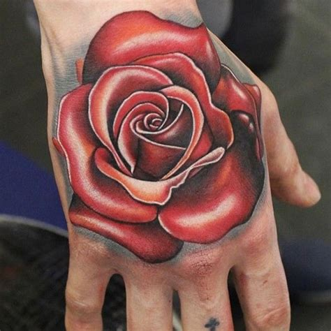 rose tattoos on the hand 17 best ideas about on on