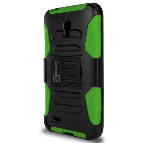 tough and rugged holster cover rugged tough for alcatel one touch go play conquest