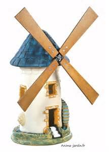moulin 224 vent ardoise d 233 coration de jardin 68 cm achat