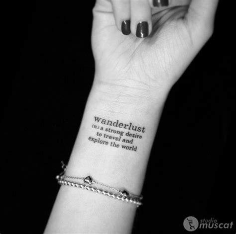 tattoo wrist wanderlust best 25 wanderlust tattoos ideas on pinterest compass