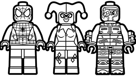 coloring pages of lego spiderman lego spiderman coloring pages coloringsuite com