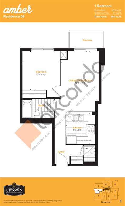 one amber floor plan amber condos talkcondo