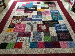 Shirt Quilts T Shirt Quilts Quilted Impressions