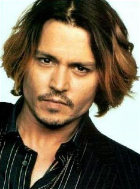 johnny depp haircut fashion ombre hair  men