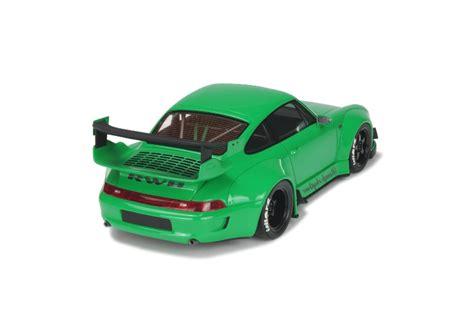 rauh welt porsche green 1 18 porsche 911 993 rwb rauh welt begriff wide body akira