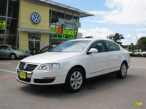 white volkswagen passat 2008 candy white volkswagen passat turbo sedan 16998392