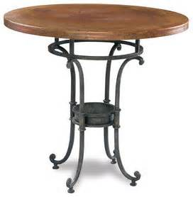 Copper Top Bar Table by Pub Table 38 Diameter Copper Top Png