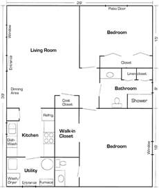 mothjer law suite addition floor plan plans small narrow bathroom