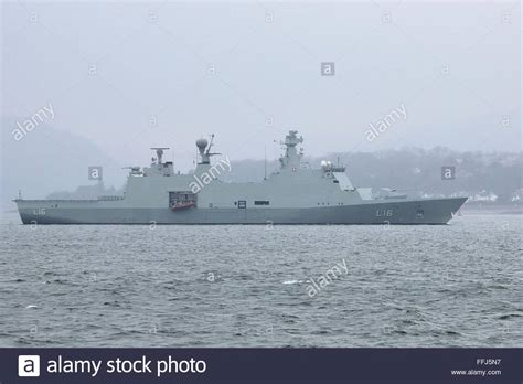 absalon absalon hdms absalon l16 an absalon class command and support ship of the stock photo royalty free