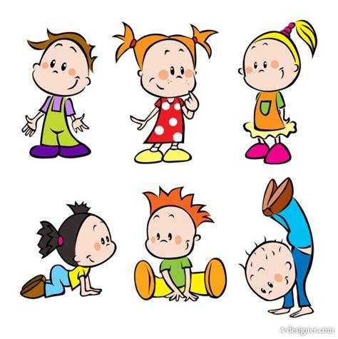 doodle nama fina 4 designer images of children 01 vector