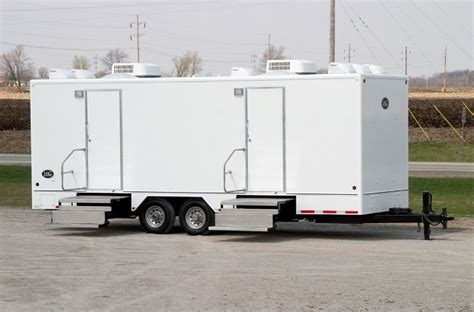 Trailer Bathroom Rental by Portable Bathroom Trailer Rentals For Weddings Special