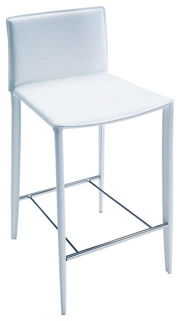 White Modern Counter Stools counter stool white contemporary bar stools and