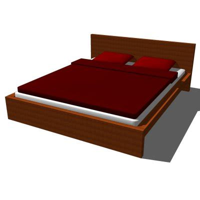 ikea malm queen bed frame ikea malm bed 3d model formfonts 3d models textures