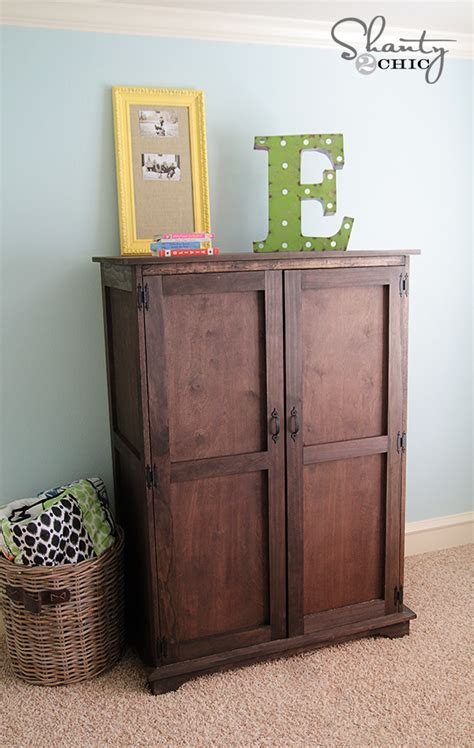 pottery barn computer armoire pottery barn inspired armoire free plans shanty 2 chic